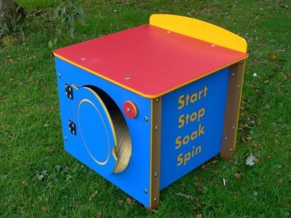 Phonic Role Play Outdoor Classroom Play Equipment - Recycled Plastic Washing Machine